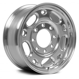 "OE Wheels® - 16"" Replica 10 Holes Polished Factory Alloy Wheel"