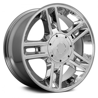 "OE Wheels® - 20"" Replica 5 Double Spokes Chrome Factory Alloy Wheel"