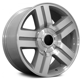 "OE Wheels® - 20"" Replica 5 Spokes Silver with Machined Face Factory Alloy Wheel"