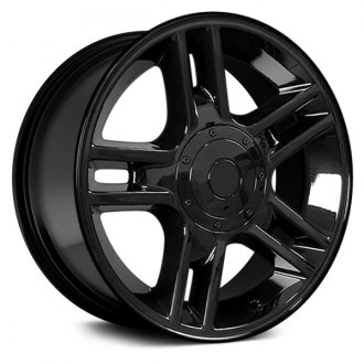 "OE Wheels® - 20"" Replica 5 Double Spokes Black Factory Alloy Wheel"