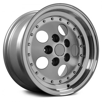 "OE Wheels® - 15"" 5-Hole Silver with Machined Face Factory Alloy Wheel (Replica)"
