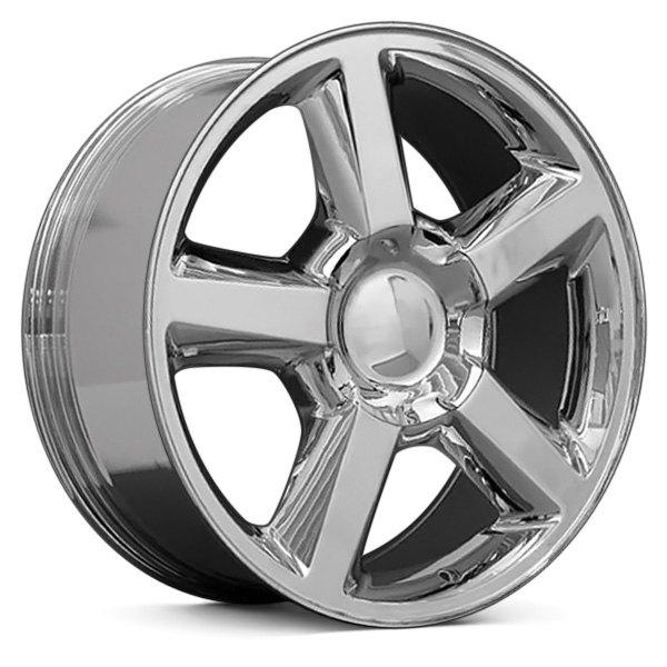 gmc oe gm fit oew itm set silver wheels rims polished yukon trucks p categories style