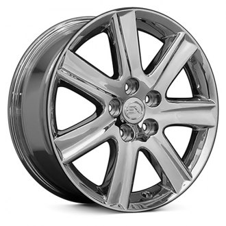"OE Wheels® - 17"" Replica 7 Spokes Chrome Factory Alloy Wheel"