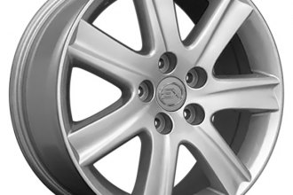 OE Wheels® - 17 x 7 7-Spoke Silver Alloy Factory Wheel (Replica)