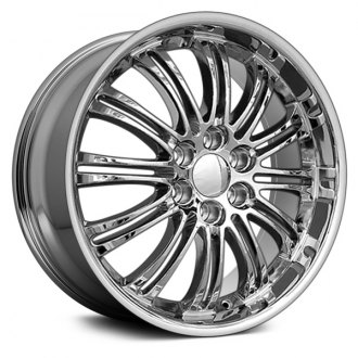 "OE Wheels® - 22"" Replica 12 Double Spokes Chrome Factory Alloy Wheel"