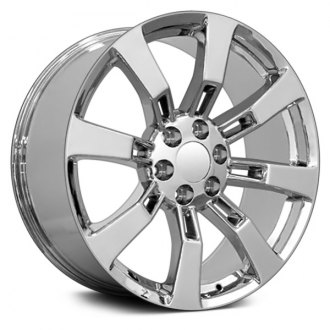 "OE Wheels® - 20"" Replica 8 Spokes Chrome Factory Alloy Wheel"