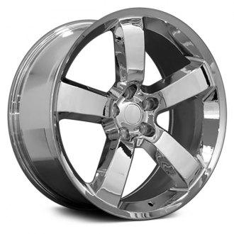 dodge charger factory alloy wheels carid Dodge Ram Super Bee oe wheels 20x9 5 spoke chrome alloy factory wheel replica
