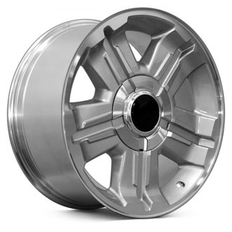 "OE Wheels® - 18"" Replica 5 Spokes Silver with Machined Face Factory Alloy Wheel"