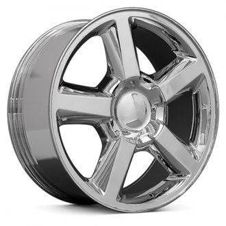 "OE Wheels® - 22"" Replica 5 Spokes Chrome Factory Alloy Wheel"