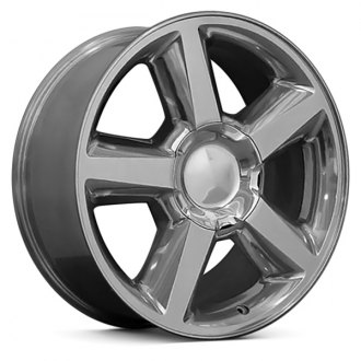 "OE Wheels® - 22"" Replica 5 Spokes Polished Factory Alloy Wheel"