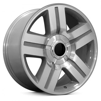 "OE Wheels® - 22"" Replica 5 Spokes Silver with Machined Face Factory Alloy Wheel"