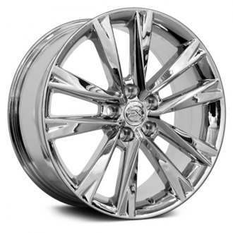 "OE Wheels® - 19"" Replica 5 V Spokes Chrome Factory Alloy Wheel"