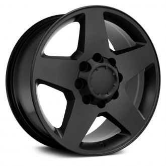 "OE Wheels® - 20"" Replica 5 Spokes Satin Black Factory Alloy Wheel"