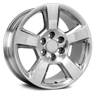 "OE Wheels® - 20"" Replica 5 Spokes Polished Factory Alloy Wheel"