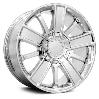 "OE Wheels® - 20"" Replica 10 Spokes Chrome Factory Alloy Wheel"