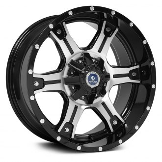 "OE Wheels® - 20"" Replica Black Machined Factory Alloy Wheel"
