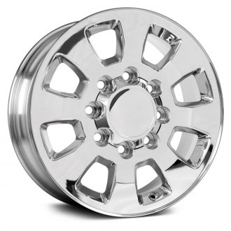 "OE Wheels® - 18"" Replica 8 Spokes Chrome Factory Alloy Wheel"