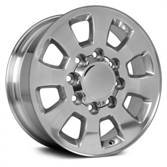 "OE Wheels® - 18"" Replica 8 Spokes Polished Factory Alloy Wheel"