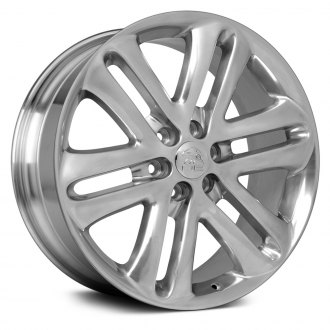 OE Wheels® - 22x9 5 Double-Spoke Polished Alloy Factory Wheel (Replica)