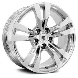 "OE Wheels® - 18"" Replica 5 Double Spokes Chrome Factory Alloy Wheel"