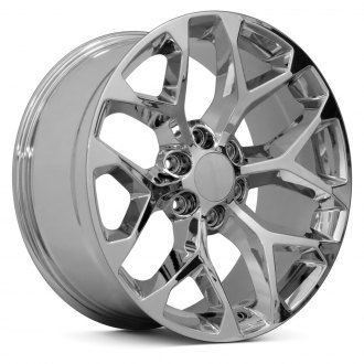 "OE Wheels® - 22"" Replica 6 Y Spokes Chrome Factory Alloy Wheel"