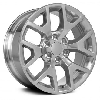 "OE Wheels® - 22"" Replica 6 Y Spokes Polished Factory Alloy Wheel"