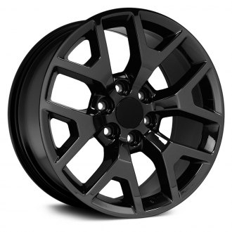 "OE Wheels® - 20"" Replica 6 Y Spokes PVD Black Chrome Factory Alloy Wheel"