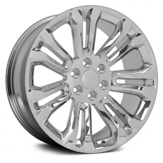 "OE Wheels® - 22"" Replica 7 Double Spokes Chrome Factory Alloy Wheel"