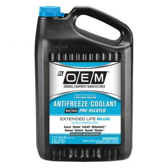 OEM Antifreeze/Coolant® - OEM Premium Extended Life Blue Antifreeze/Coolant