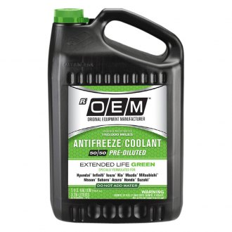 OEM Antifreeze/Coolant® - OEM Premium Extended Life Green Antifreeze/Coolant