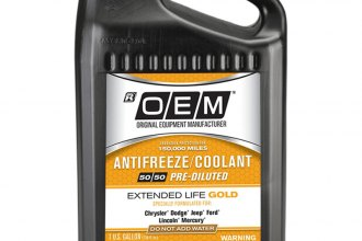 OEM Antifreeze/Coolant® - OEM Premium Extended Life Gold Antifreeze/Coolant