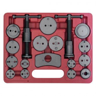 OEM Tools® - 18 Piece Disc Caliper Brake Set