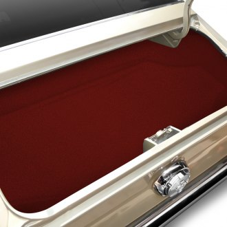 OER® - Molded Red Replacement Trunk Well Mat