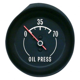 OER® - Mechanical Console Oil Pressure Gauge
