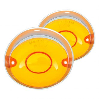 OER® - Driver and Passenger Side Replacement Turn Signal/Parking Light Lenses