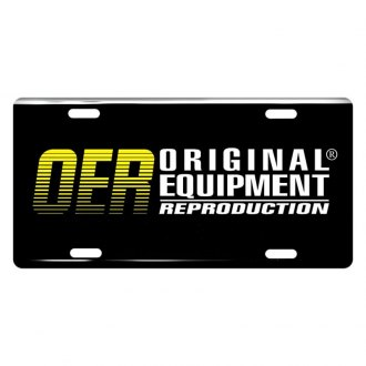 OER® - License Plate with Original Equipment Reproduction