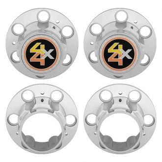 OER® - Hub Cap Set With 4 x 4 Logo