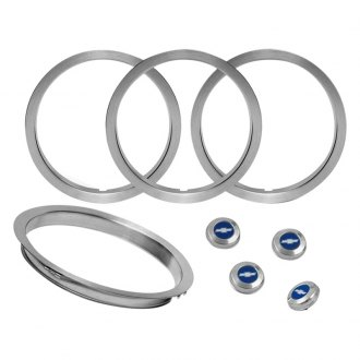 OER® - Wheel Center Cap and Trim Ring Set