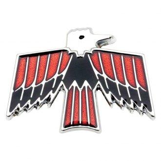 1967 Pontiac Firebird Chrome Emblems, Letters & Numbers ...