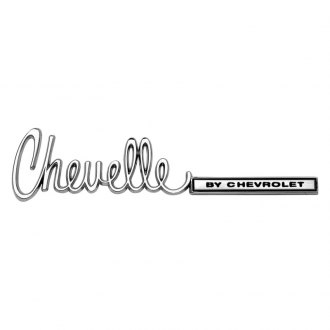 "OER® - ""Chevelle By Chevrolet"" Trunk Emblem"
