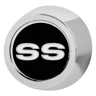 OER® - Brightly Polished Chrome Wheel Center Cap With SS Logo and Without Retainer