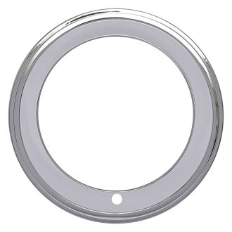 OER® - Chrome Step Lip Rally Wheel Trim Rings