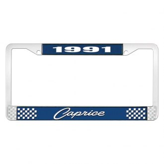 OER® - License Plate Frame with Style 1 1991 Caprice Logo