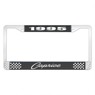 OER® - License Plate Frame with 1995 Caprice Logo