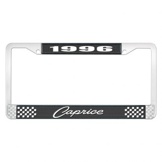 OER® - License Plate Frame with 1996 Caprice Logo
