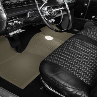 OER® - 1st & 2nd Row Rubber Fawn Floor Mat Set