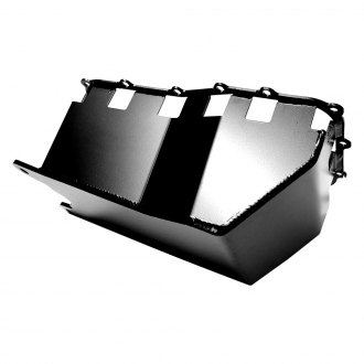 EVO Manufacturing® - Black Powdercoated Oil Pan Skid Plate