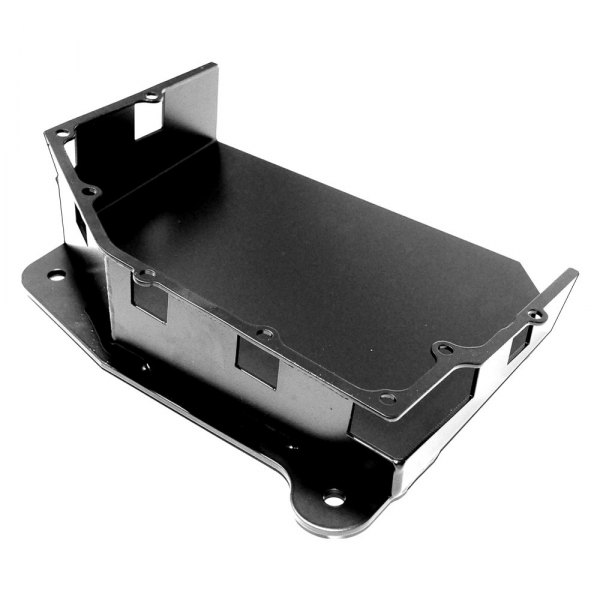 EVO Manufacturing® - Black Powdercoated Transmission Skid Plate