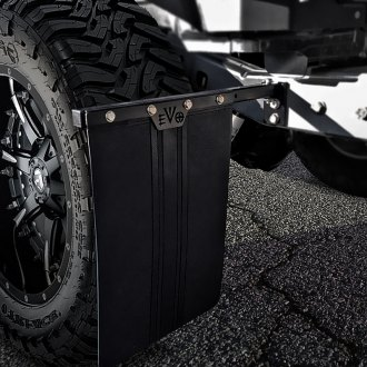 EVO Manufacturing® - Quick Release Mud Flap Kit with Flaps