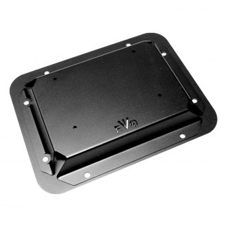 EVO Manufacturing® - Black Powder Coated Gate Plate